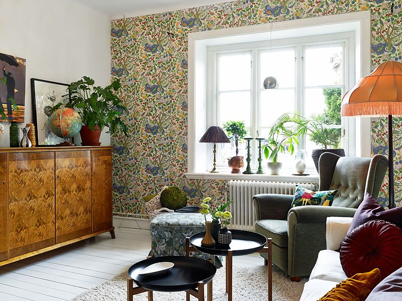 adelaparvu.com despre locuinta de trei camere cu parfum vintage, apartament Suedia, Foto Jonas Berg, Stadshem (23)