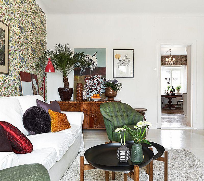 adelaparvu.com despre locuinta de trei camere cu parfum vintage, apartament Suedia, Foto Jonas Berg, Stadshem (3)