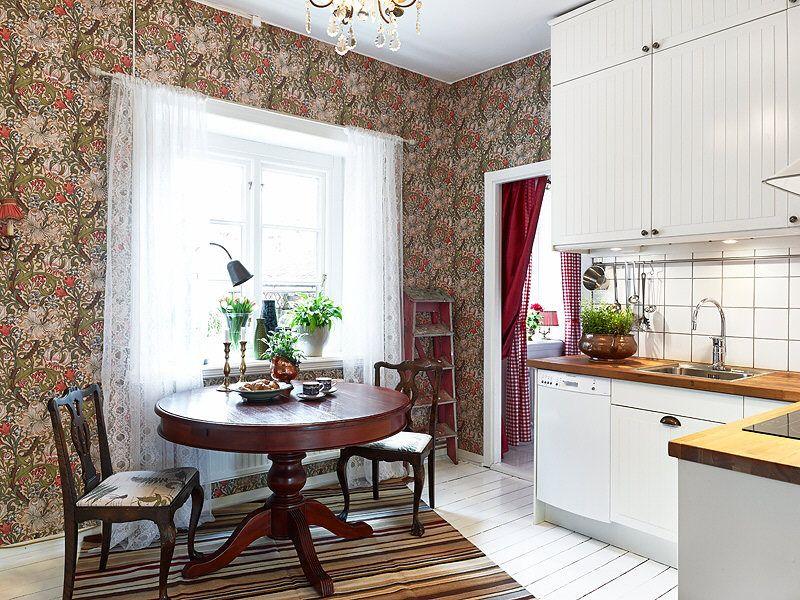 adelaparvu.com despre locuinta de trei camere cu parfum vintage, apartament Suedia, Foto Jonas Berg, Stadshem (4)