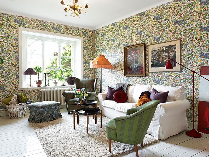 adelaparvu.com despre locuinta de trei camere cu parfum vintage, apartament Suedia, Foto Jonas Berg, Stadshem (7)