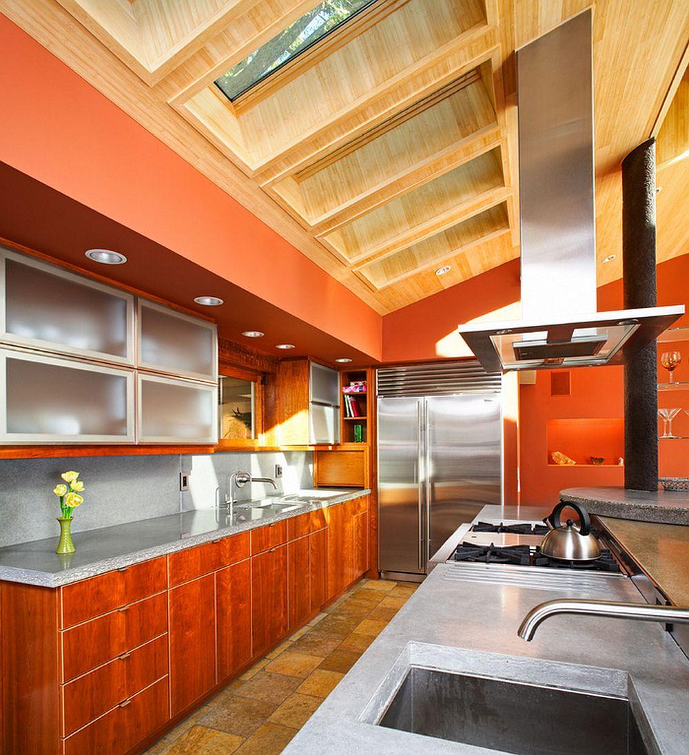 adelaparvu.com despre masa insula din beton cu locuri de sedere, design J Grant Design Studio (2)