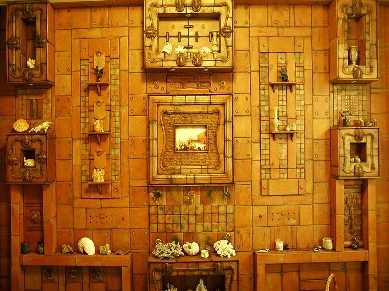 adelaparvu.com despre placi ceramice de arta, sobe de arta, pereti placati cu ceramica de arta, artisti Ligia si Calin Velio, Foto Velio (12)