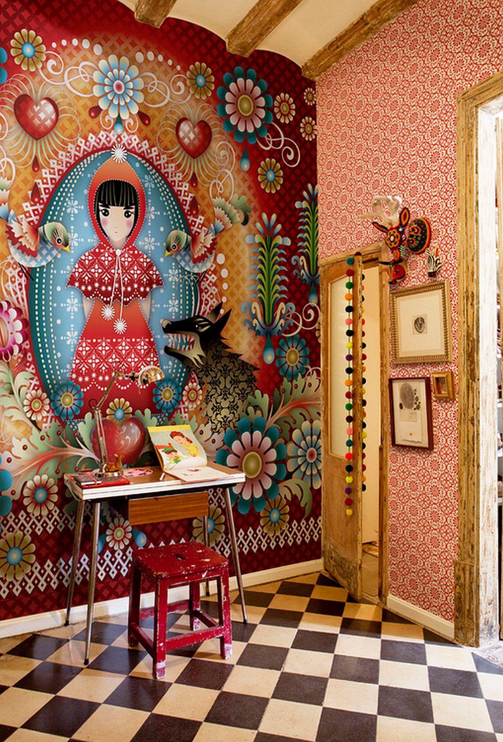 adelaparvu.com despre tapete colorate si unicate create de Catalina Estrada, Foto  (12)
