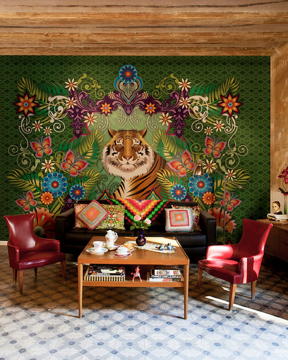 adelaparvu.com despre tapete colorate si unicate create de Catalina Estrada, Foto  (2)