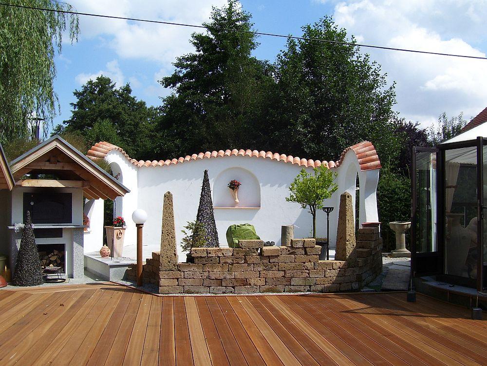 Idei pentru gr dini i terase cu aer mediteranean adela for Case cu terase
