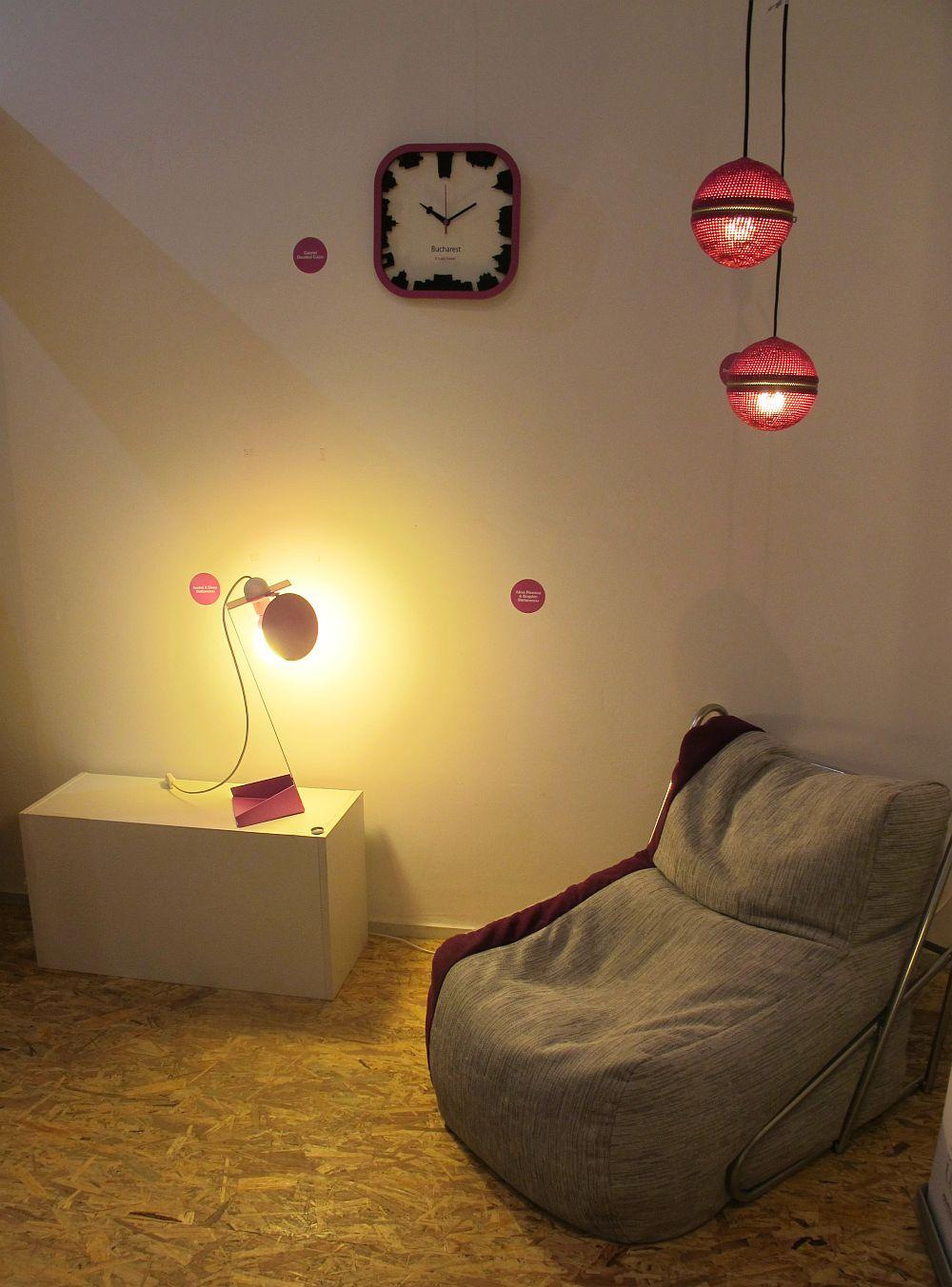 adelaparvu.com despre despre expozitia CID, Limited Edition Romanian Design, Pantone Radiant Orchid 2014