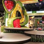 Philadelphia Flower Show 2014 - zona de intrare