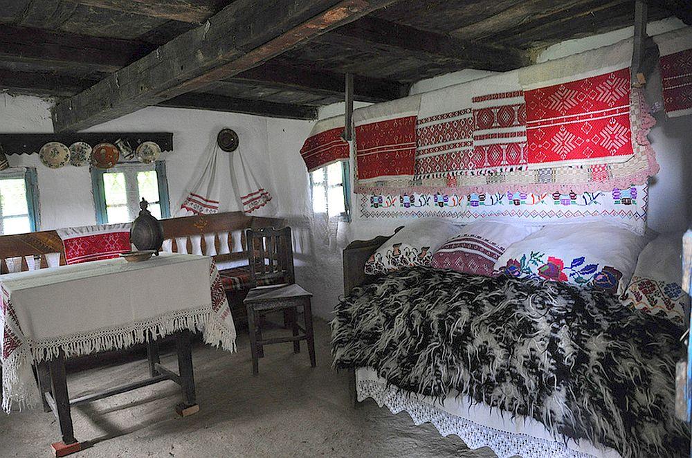 Interior casa maramureseana, Foto Gabriela Szekely via Flickr