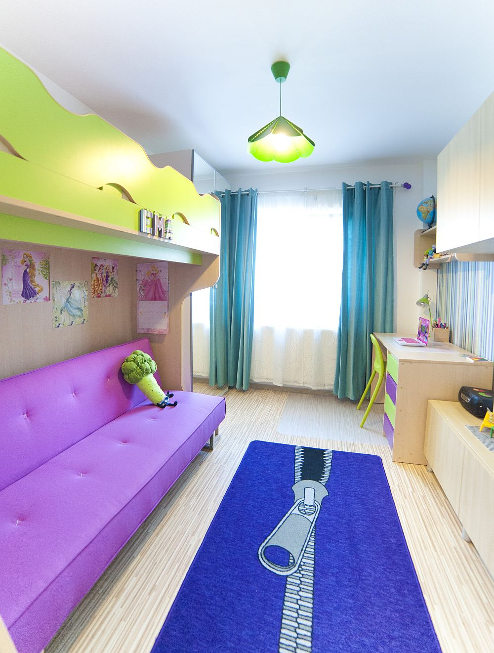 adelaparvu.com despre amenajare colorata intr-un apartament din Bucuresti, designer Aniela Broasca, Foto Dragos Boldea (16)