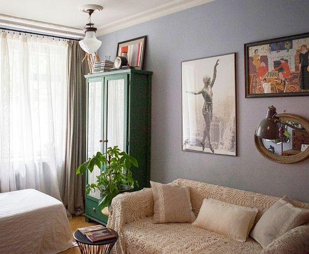 adelaparvu.com despre apartament de doua camere 38 mp, designer Julia Golavskaya  (1)