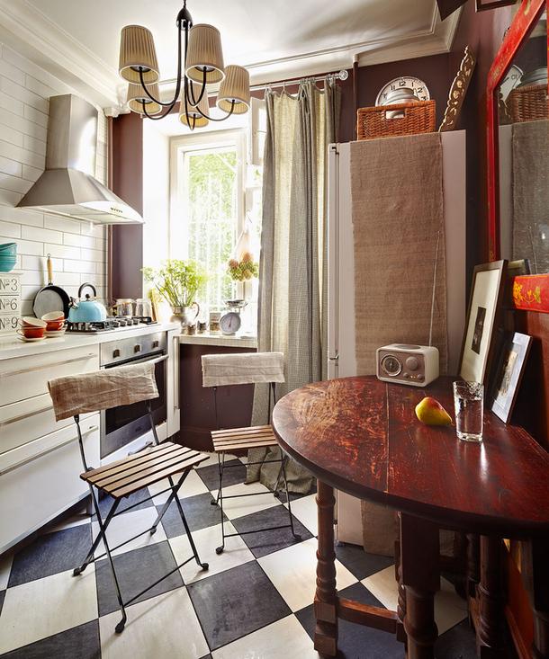 adelaparvu.com despre apartament de doua camere 38 mp, designer Julia Golavskaya  (6)