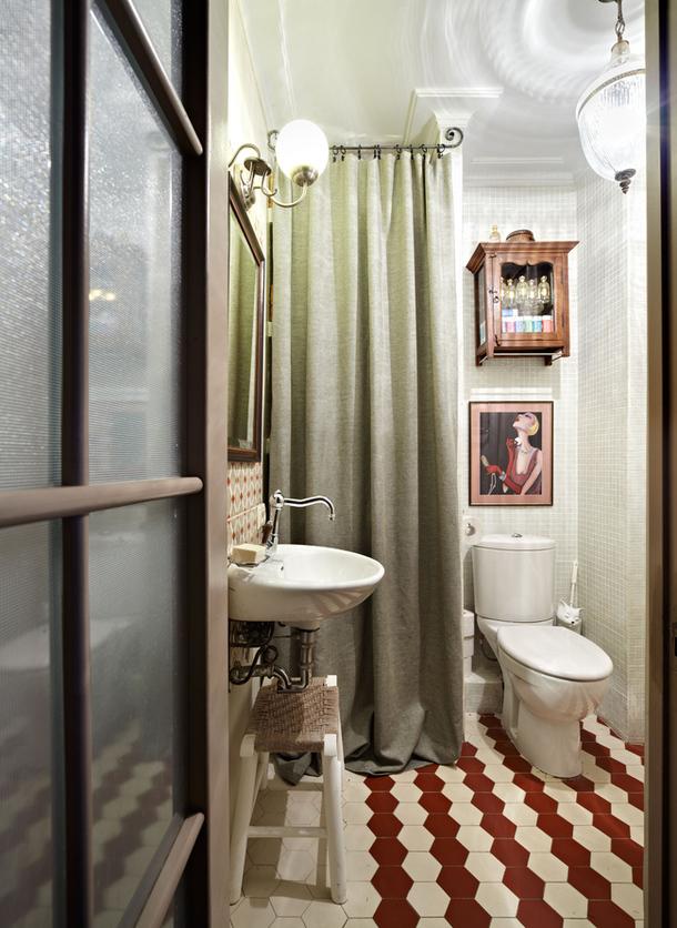 adelaparvu.com despre apartament de doua camere 38 mp, designer Julia Golavskaya  (8)