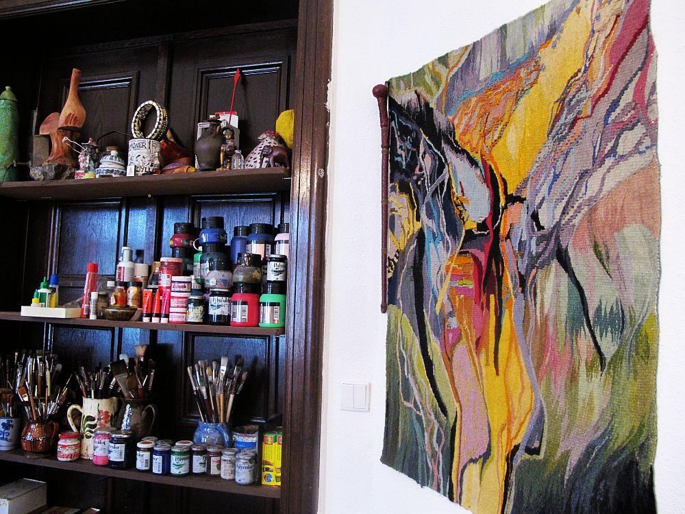 adelaparvu.com despre artistul Mirela Traistaru, atelier de artist (14)