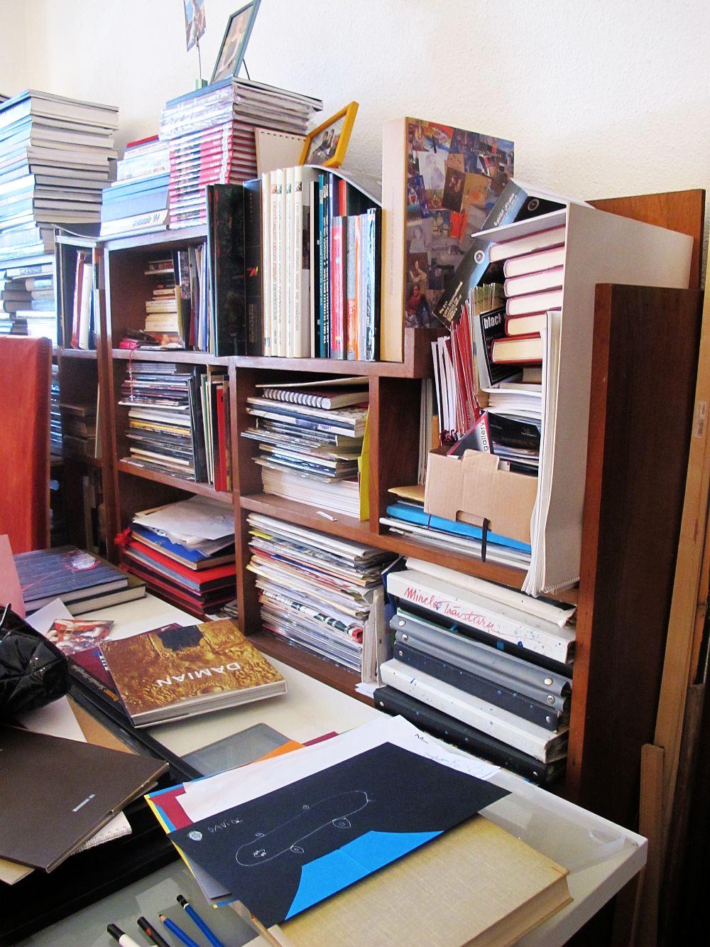 adelaparvu.com despre artistul Mirela Traistaru, atelier de artist (16)