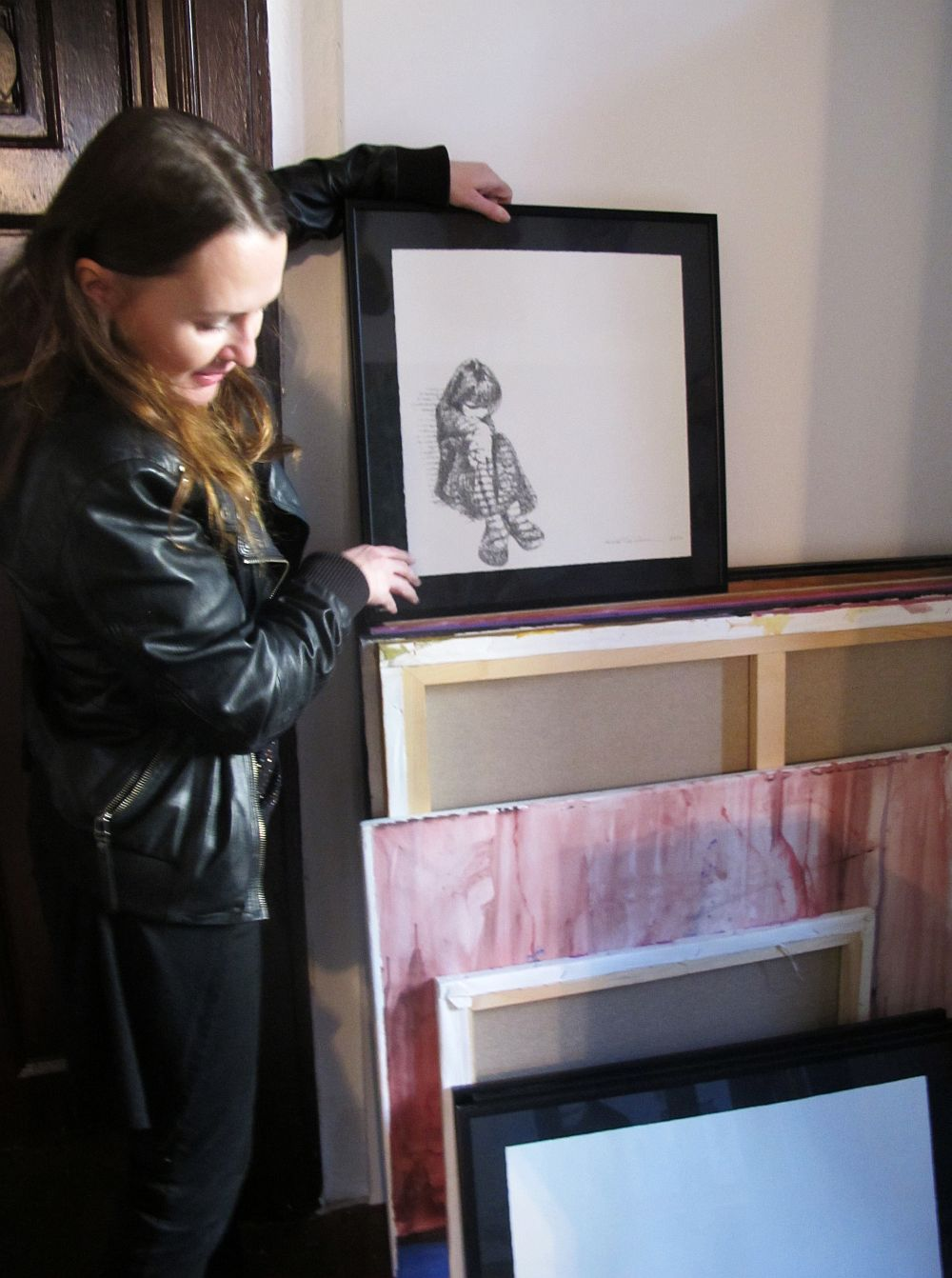 adelaparvu.com despre artistul Mirela Traistaru, atelier de artist (22)