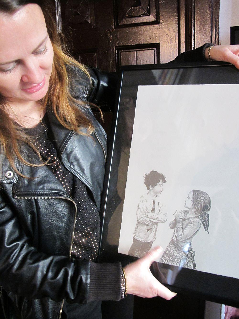 adelaparvu.com despre artistul Mirela Traistaru, atelier de artist (23)
