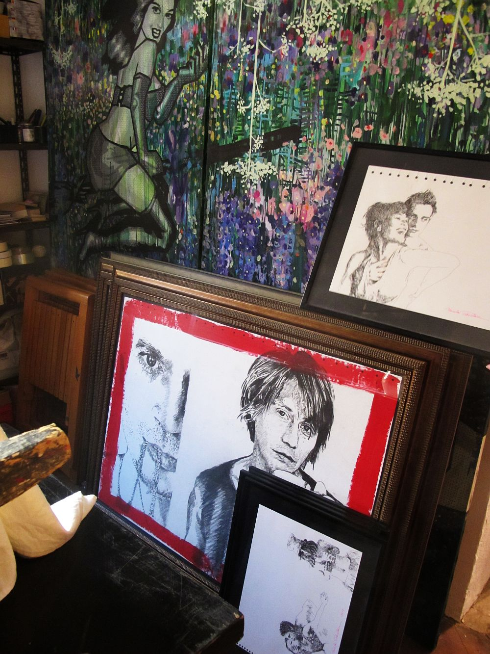 adelaparvu.com despre artistul Mirela Traistaru, atelier de artist (24)