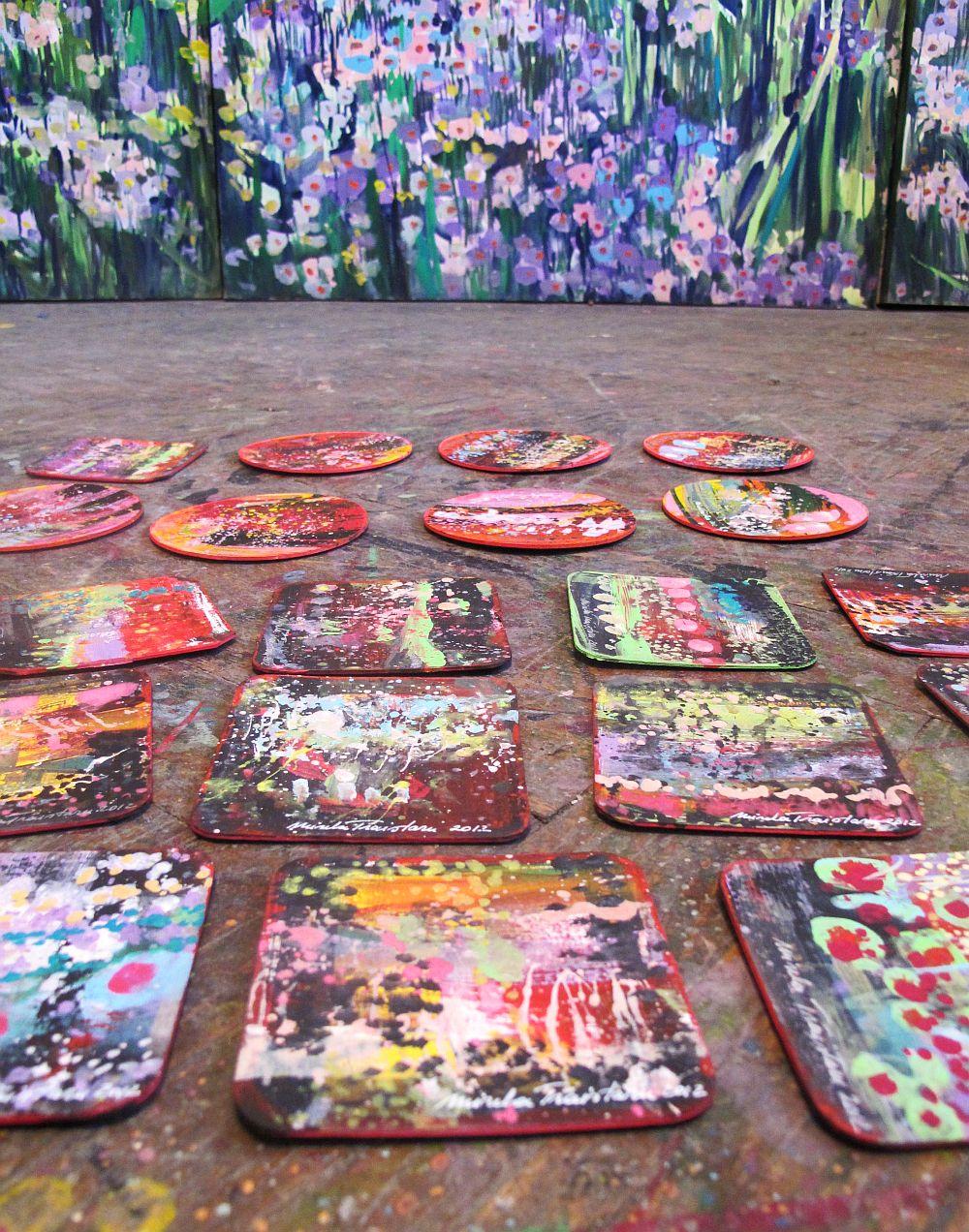 adelaparvu.com despre artistul Mirela Traistaru, atelier de artist (28)