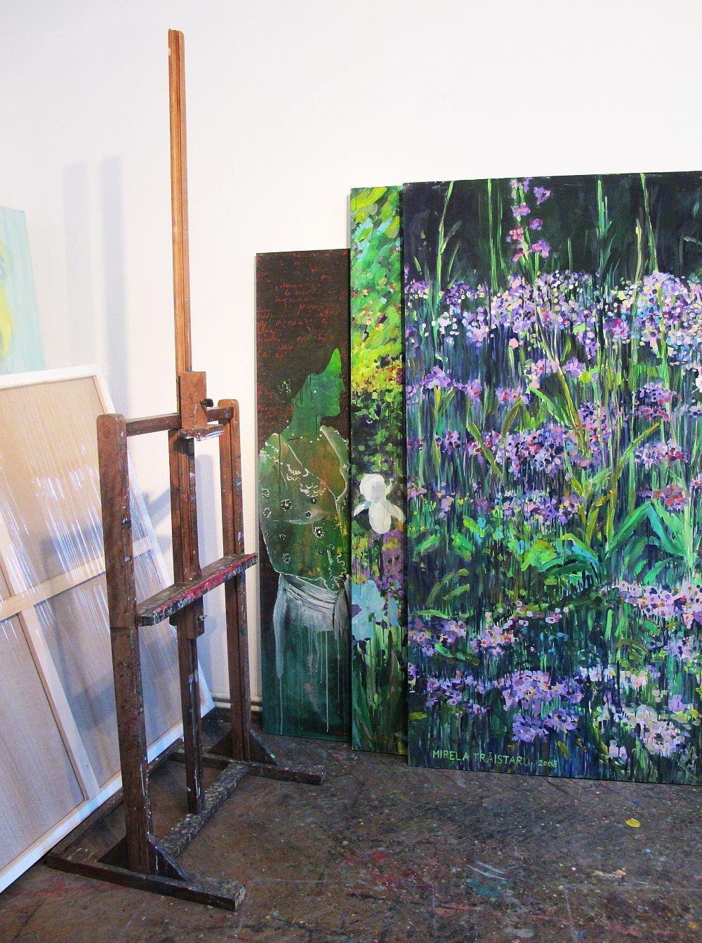 adelaparvu.com despre artistul Mirela Traistaru, atelier de artist (30)