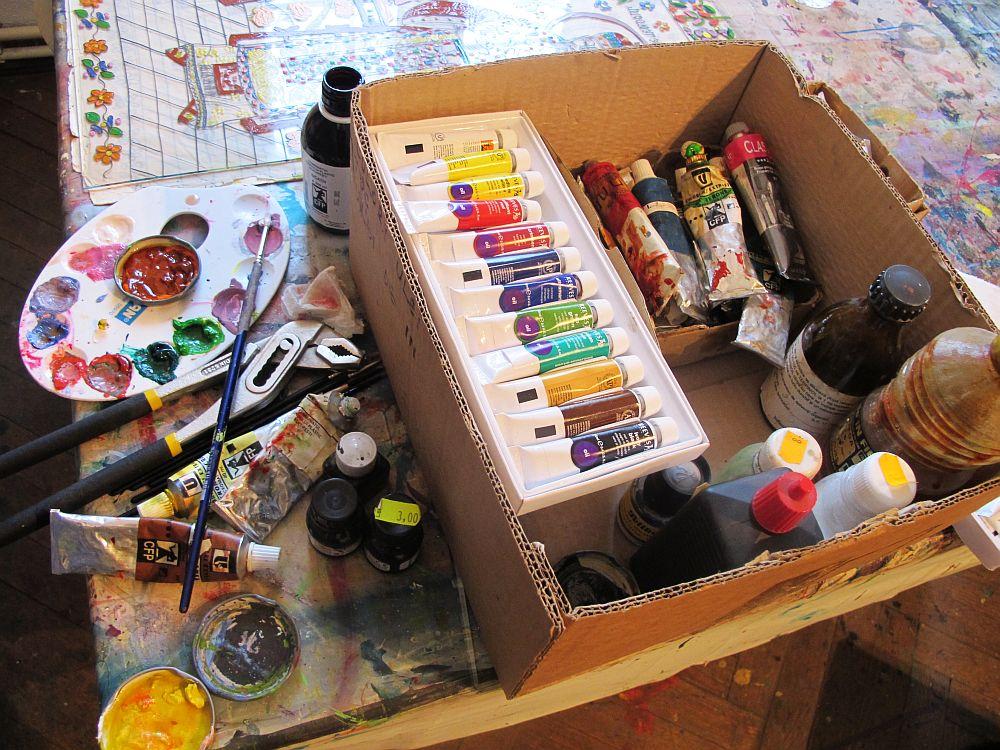 adelaparvu.com despre artistul Mirela Traistaru, atelier de artist (31)