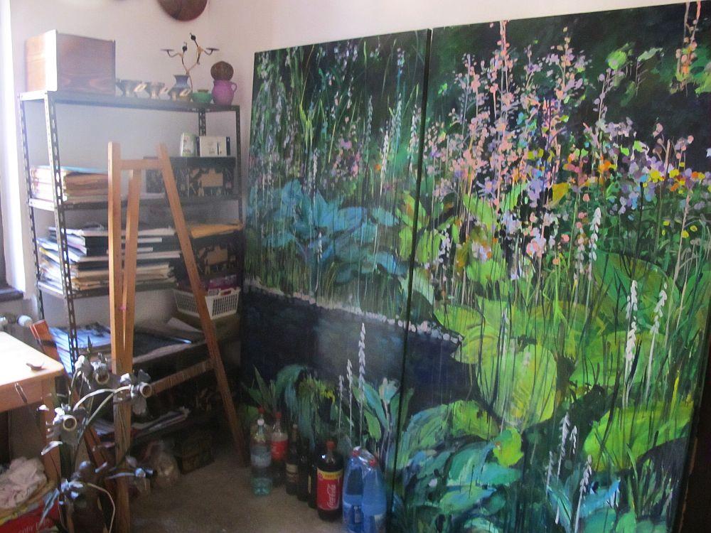 adelaparvu.com despre artistul Mirela Traistaru, atelier de artist (34)