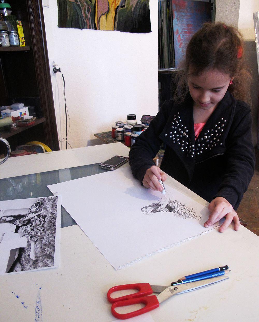 adelaparvu.com despre artistul Mirela Traistaru, atelier de artist (39)