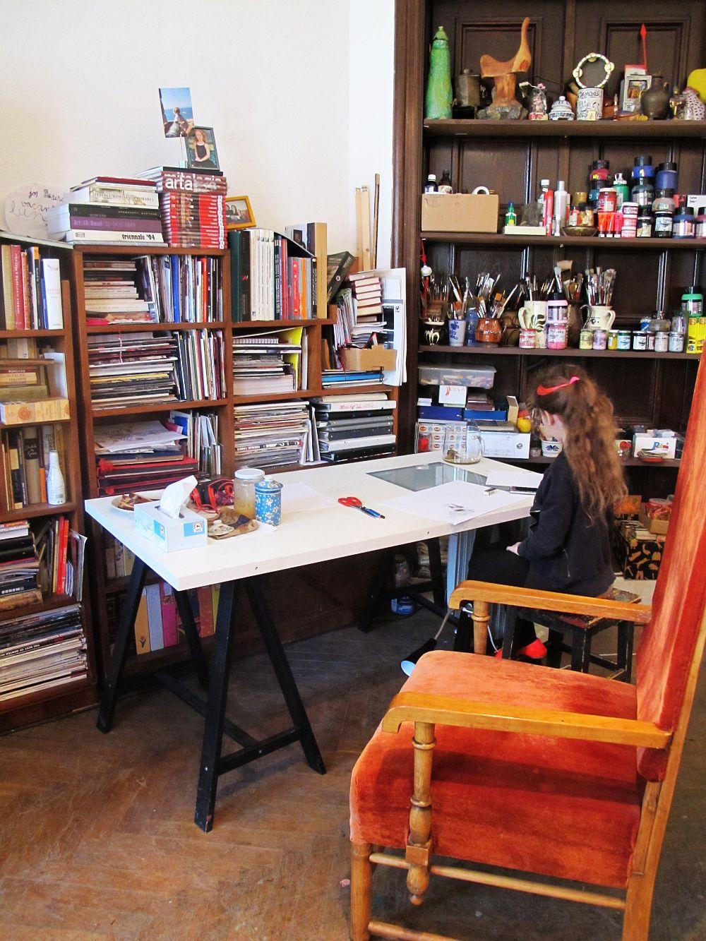 adelaparvu.com despre artistul Mirela Traistaru, atelier de artist (40)