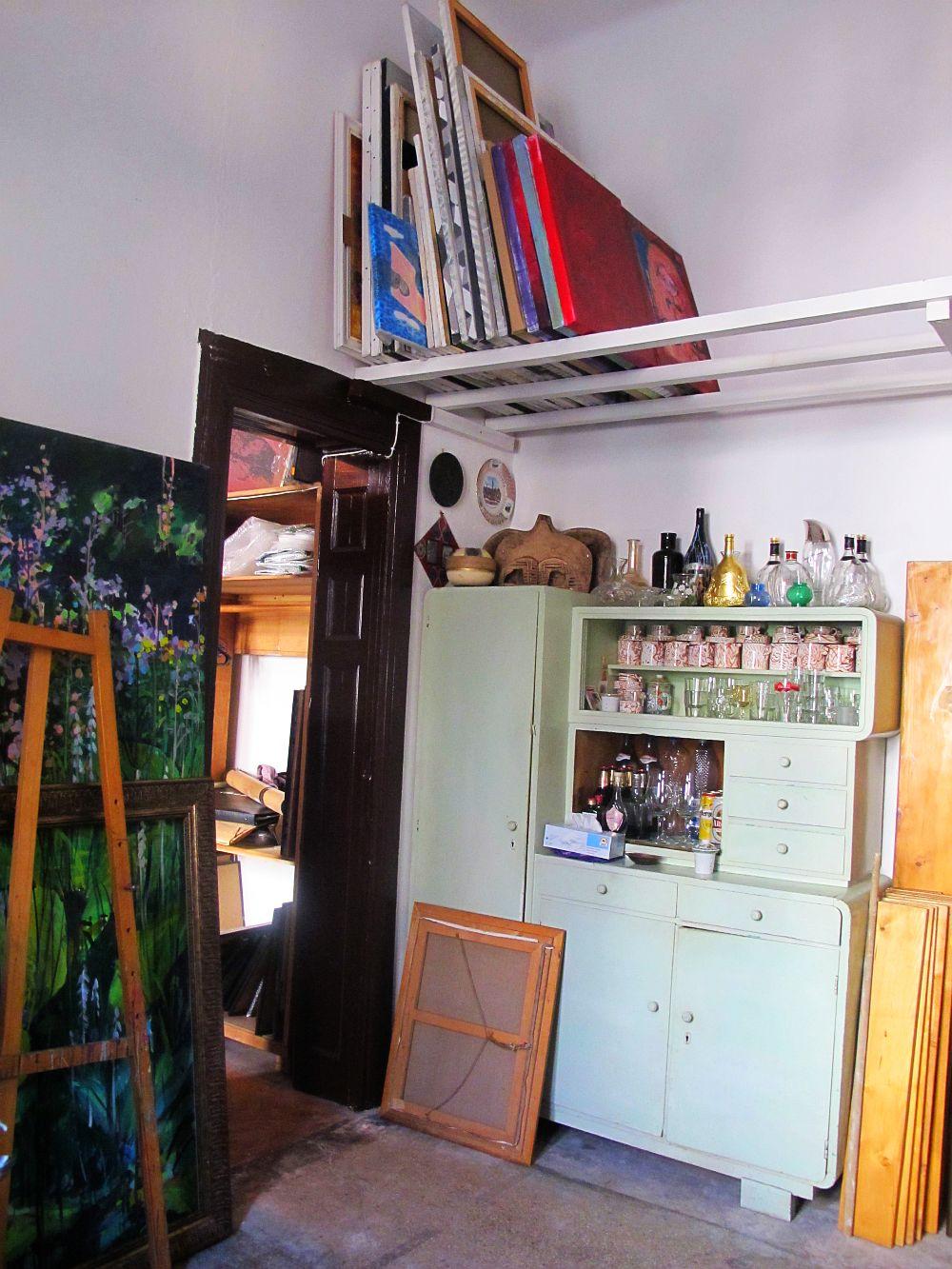 adelaparvu.com despre artistul Mirela Traistaru, atelier de artist (42)