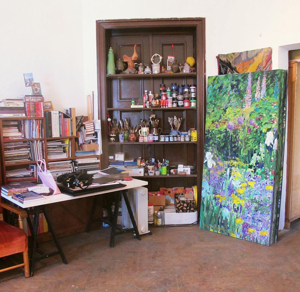 adelaparvu.com despre artistul Mirela Traistaru, atelier de artist (48)