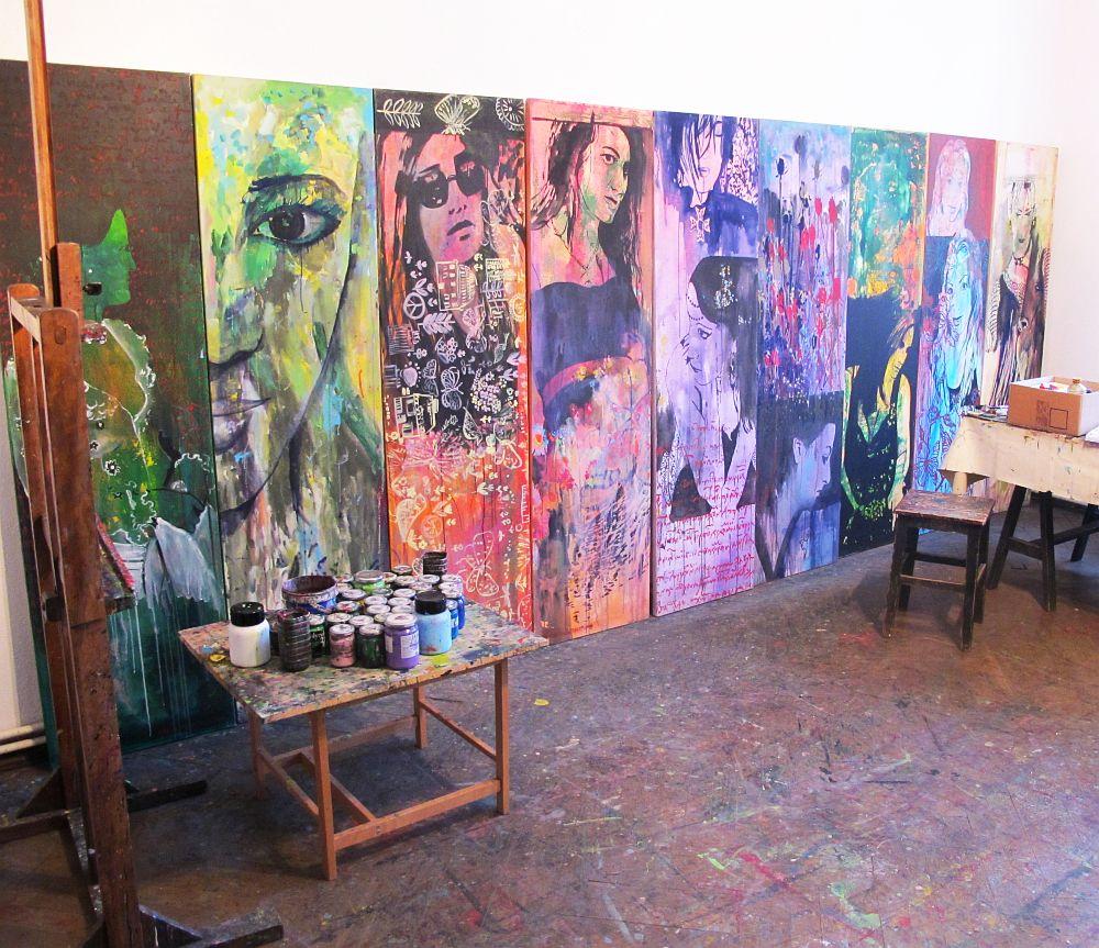 adelaparvu.com despre artistul Mirela Traistaru, atelier de artist (49)