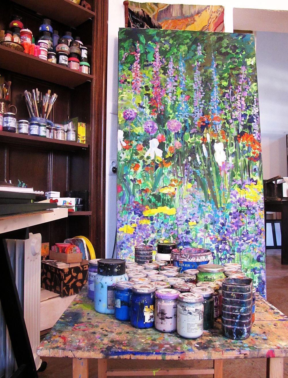 adelaparvu.com despre artistul Mirela Traistaru, atelier de artist (50)