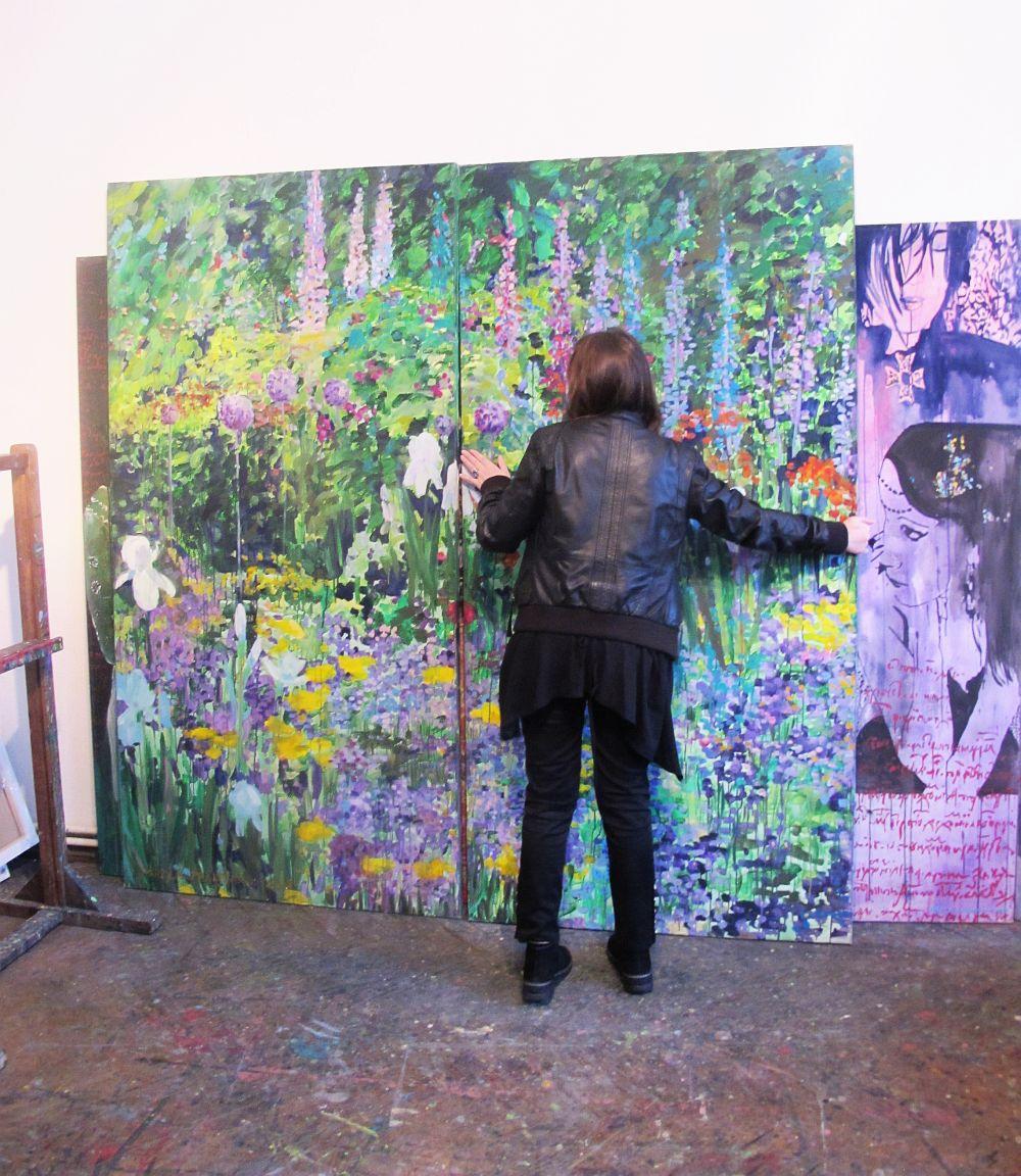 adelaparvu.com despre artistul Mirela Traistaru, atelier de artist (51)