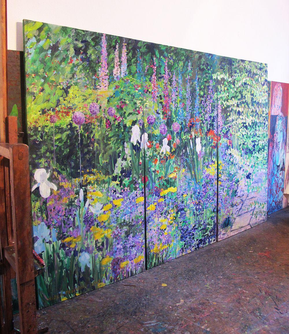 adelaparvu.com despre artistul Mirela Traistaru, atelier de artist (53)