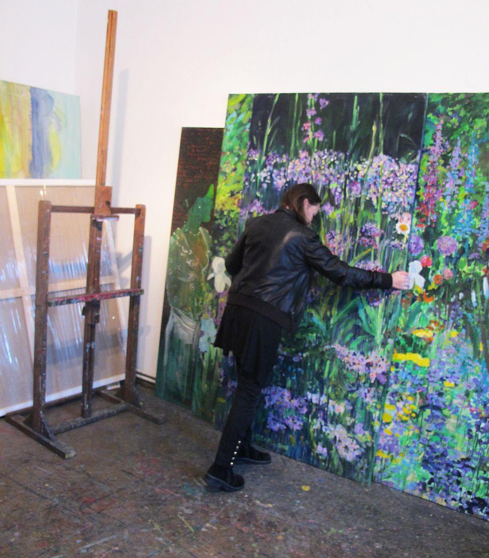 adelaparvu.com despre artistul Mirela Traistaru, atelier de artist (54)