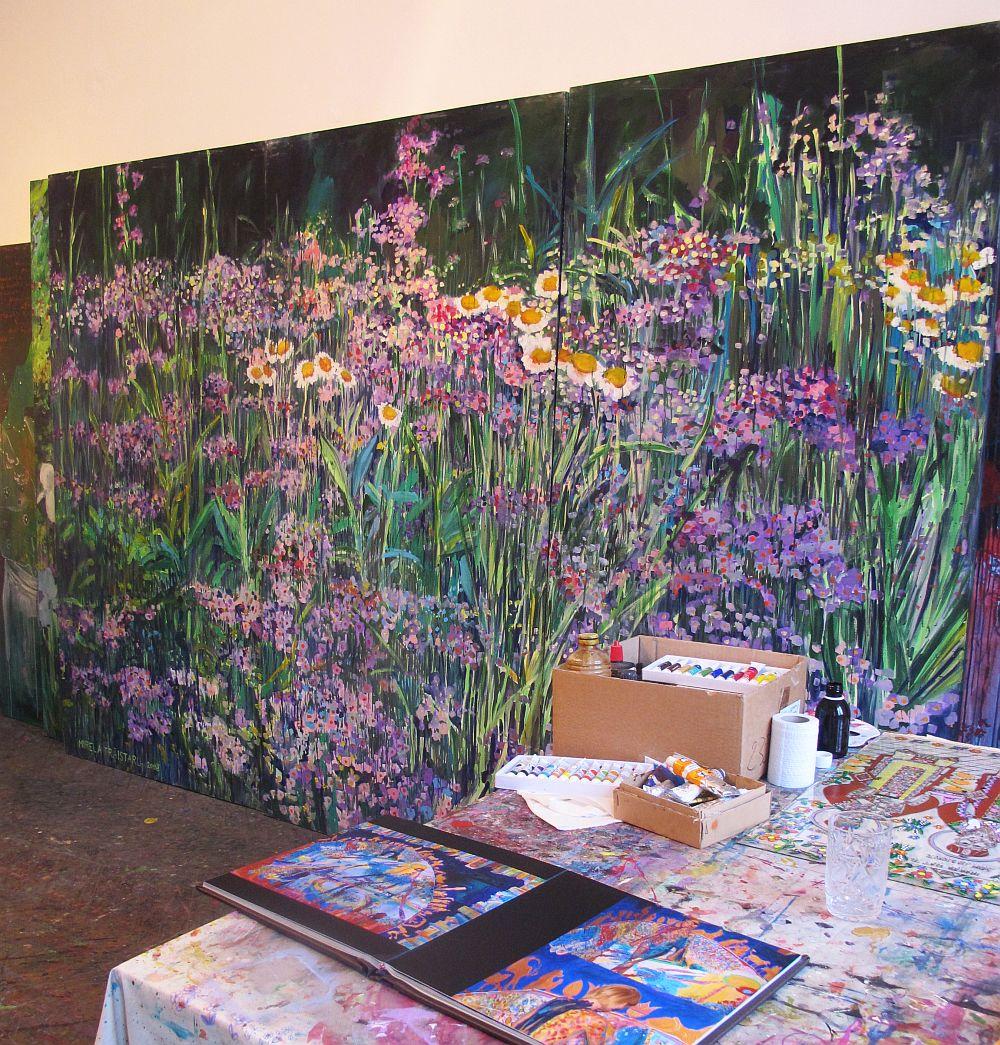 adelaparvu.com despre artistul Mirela Traistaru, atelier de artist (55)