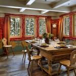 adelaparvu.com despre cabana de munte in SUA, chalet de schi in California, arhitecti John Malick & Associates, Foto David Wakley (3)