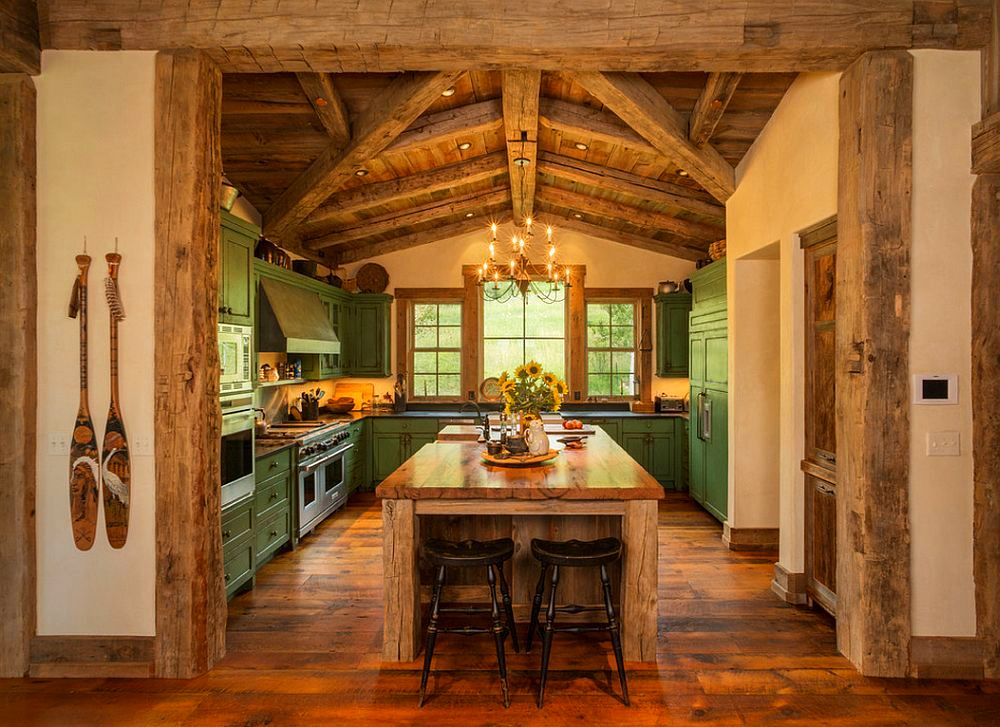 adelaparvu.com despre casa americana, ranch in stil western, arhitect Joe Patrick Robbins, foto Tim Murphy (11)