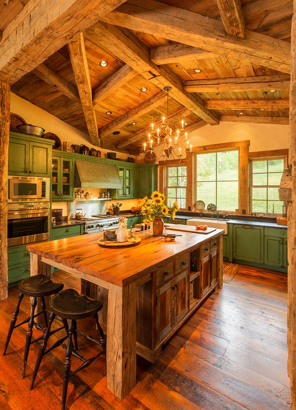 adelaparvu.com despre casa americana, ranch in stil western, arhitect Joe Patrick Robbins, foto Tim Murphy (12)