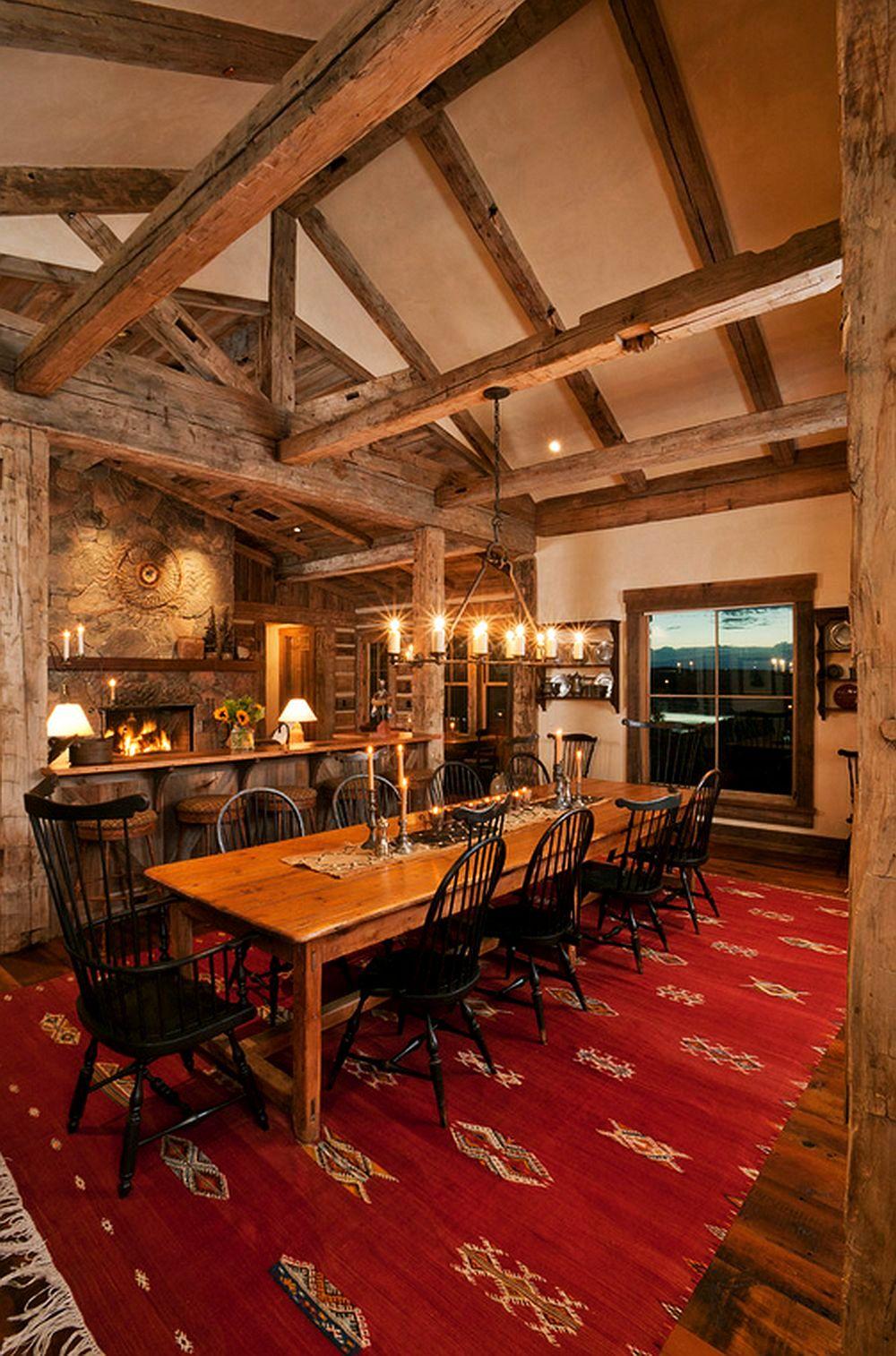 adelaparvu.com despre casa americana, ranch in stil western, arhitect Joe Patrick Robbins, foto Tim Murphy (4)