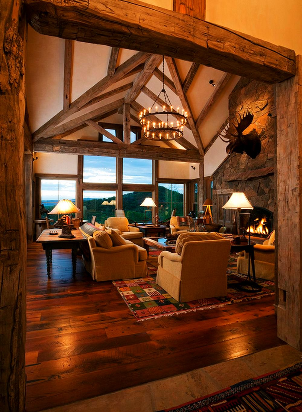 adelaparvu.com despre casa americana, ranch in stil western, arhitect Joe Patrick Robbins, foto Tim Murphy (6)