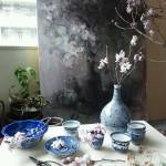 adelaparvu.com despre casa atelier a pictoriteti Yuko Nagayama, artist acuarela (29)