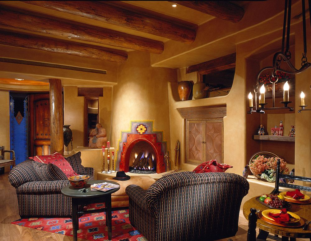 adelaparvu.com despre casa cu arhitectura organica in desert, casa rustica Pinnacle Canyon, arhitect Lee Hutchison  (2)