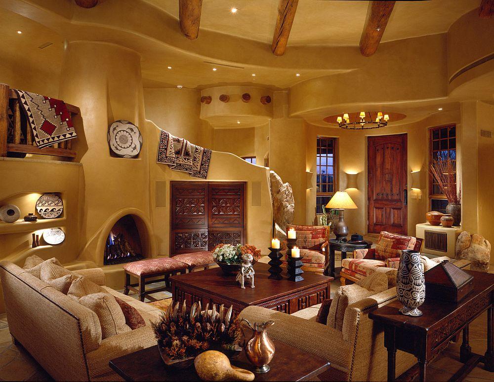 adelaparvu.com despre casa cu arhitectura organica in desert, casa rustica Pinnacle Canyon, arhitect Lee Hutchison  (3)