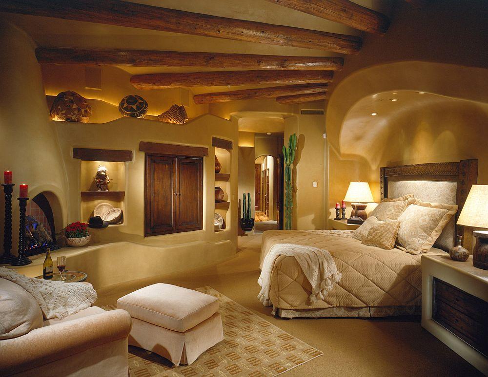 adelaparvu.com despre casa cu arhitectura organica in desert, casa rustica Pinnacle Canyon, arhitect Lee Hutchison  (5)