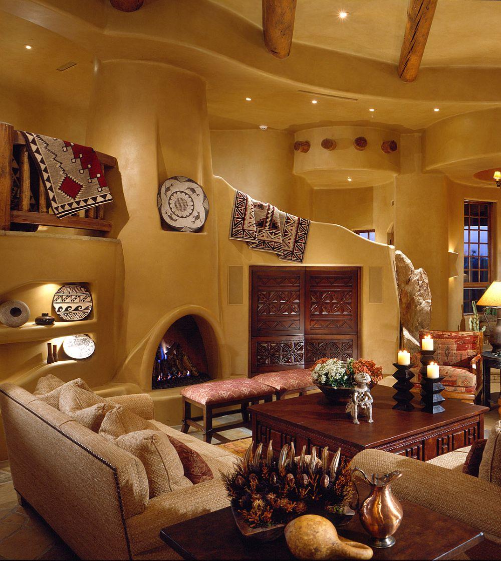 adelaparvu.com despre casa cu arhitectura organica in desert, casa rustica Pinnacle Canyon, arhitect Lee Hutchison  (8)