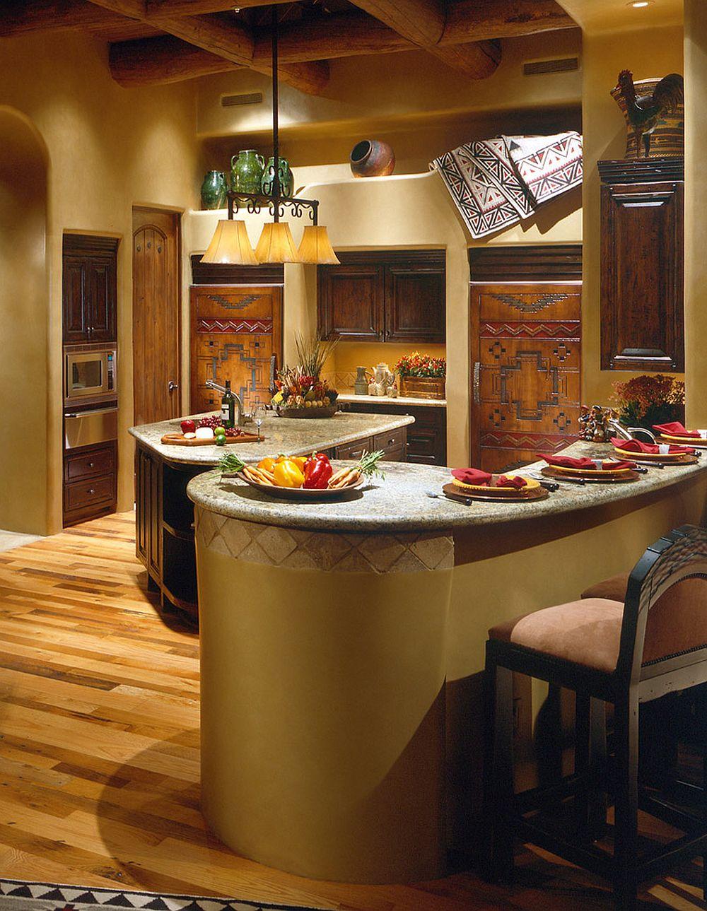 adelaparvu.com despre casa cu arhitectura organica in desert, casa rustica Pinnacle Canyon, arhitect Lee Hutchison  (9)