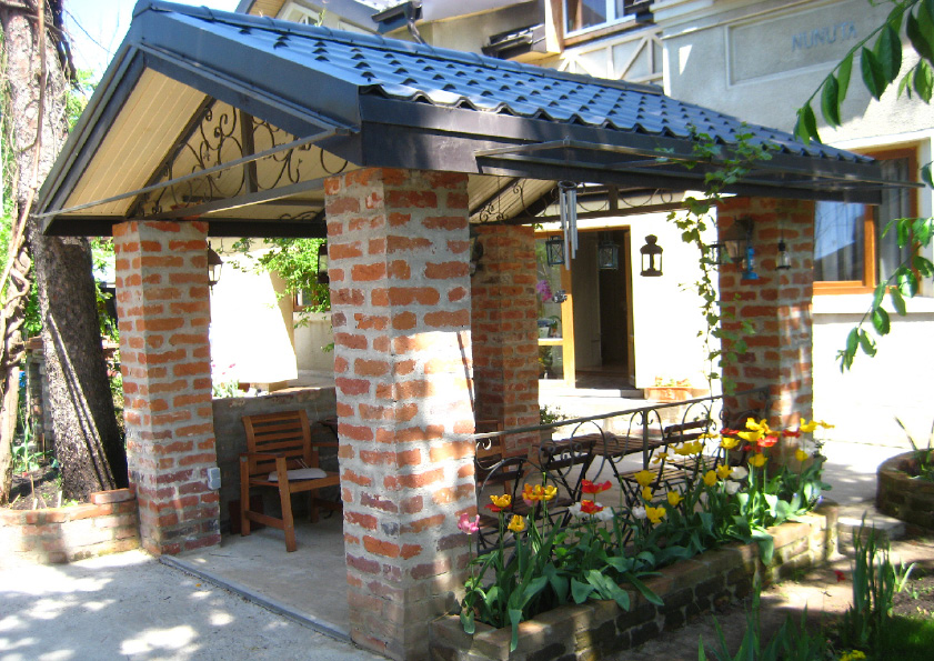 adelaparvu.com despre casa cu gradina in stil romantic, casa Bucuresti, designer Mugur Kreiss (32)
