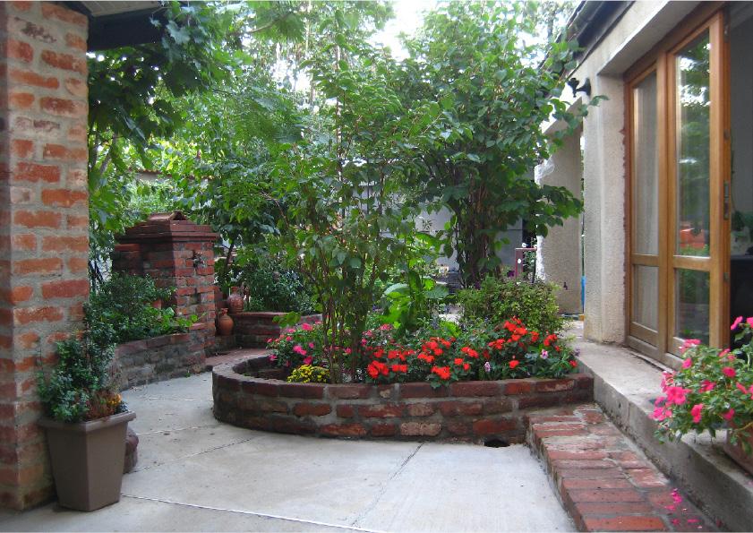 adelaparvu.com despre casa cu gradina in stil romantic, casa Bucuresti, designer Mugur Kreiss (39)