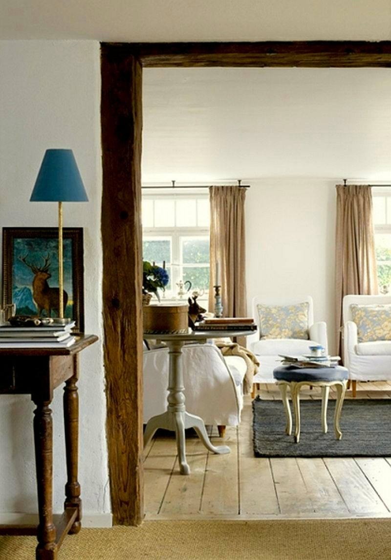 adelaparvu.com despre casa din lemn bavareza cu interior in stil provensal, Foto Red Cover, Christine Bauer (8)