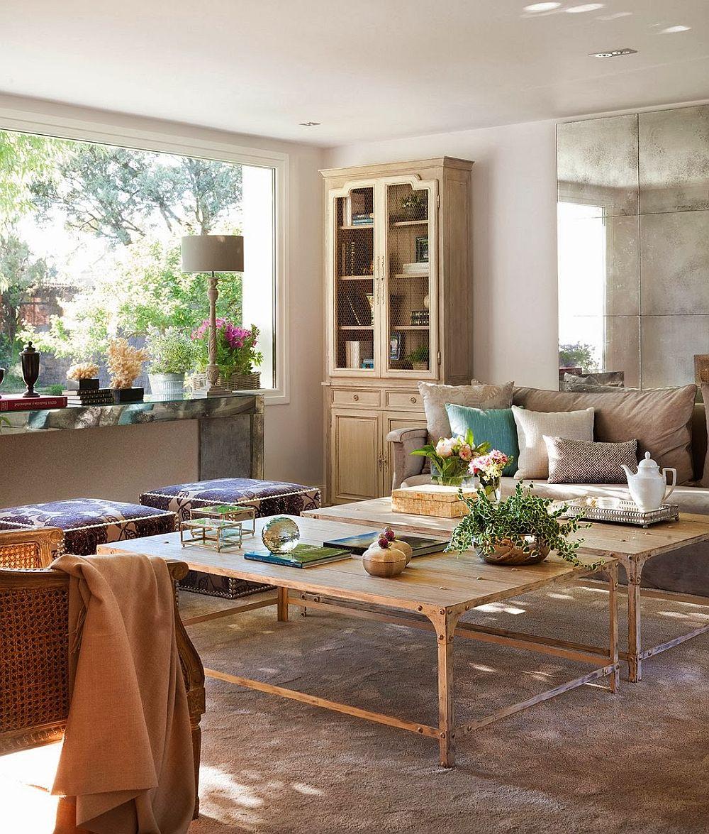 adelaparvu.com despre casa extinsa cu garaj si veranda, casa Spania, decorator Isabel Flores, Foto ElMueble (2)